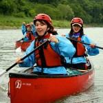 downriver canoe