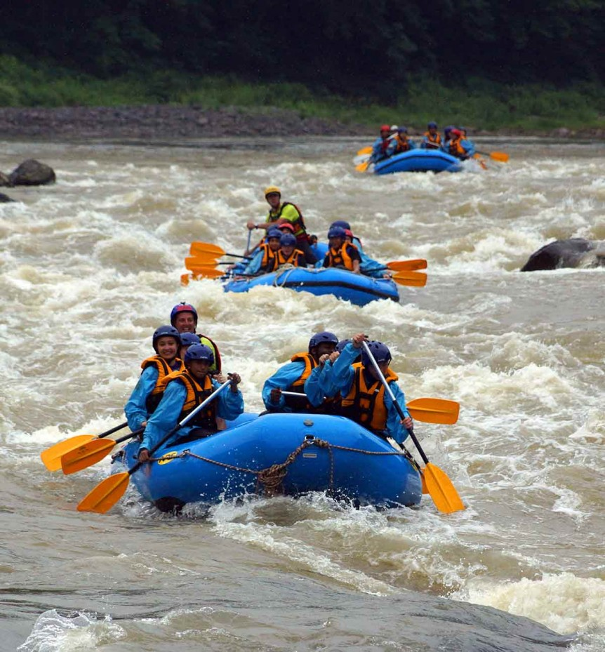 troy rafting the shinanogawa