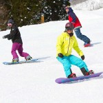 group snowboard lessons in hakuba