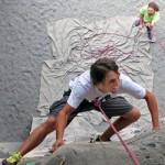 climbing in japan - wall climbing