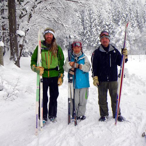 cross country ski tours in hakuba