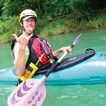 white water rafting japan - downriver kayak