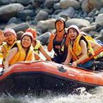 rafting in japan on hakuba's himekawa