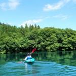 kayaking on lake aoki