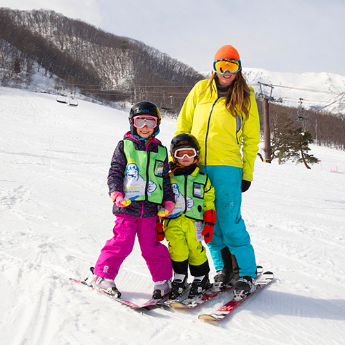 hakuba ski lessons - Kids Private Ski Lessons