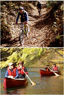 combo tours - pedal & paddle