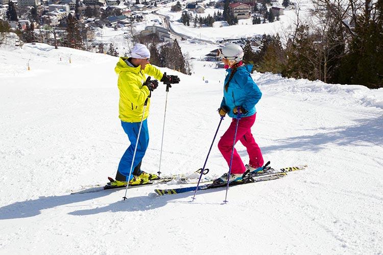 Hakuba Iwatake Ski Lesson