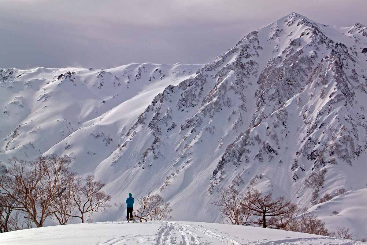 snowshoe - mountain view