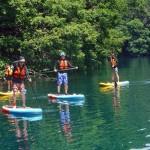 SUP on Lake Aoki