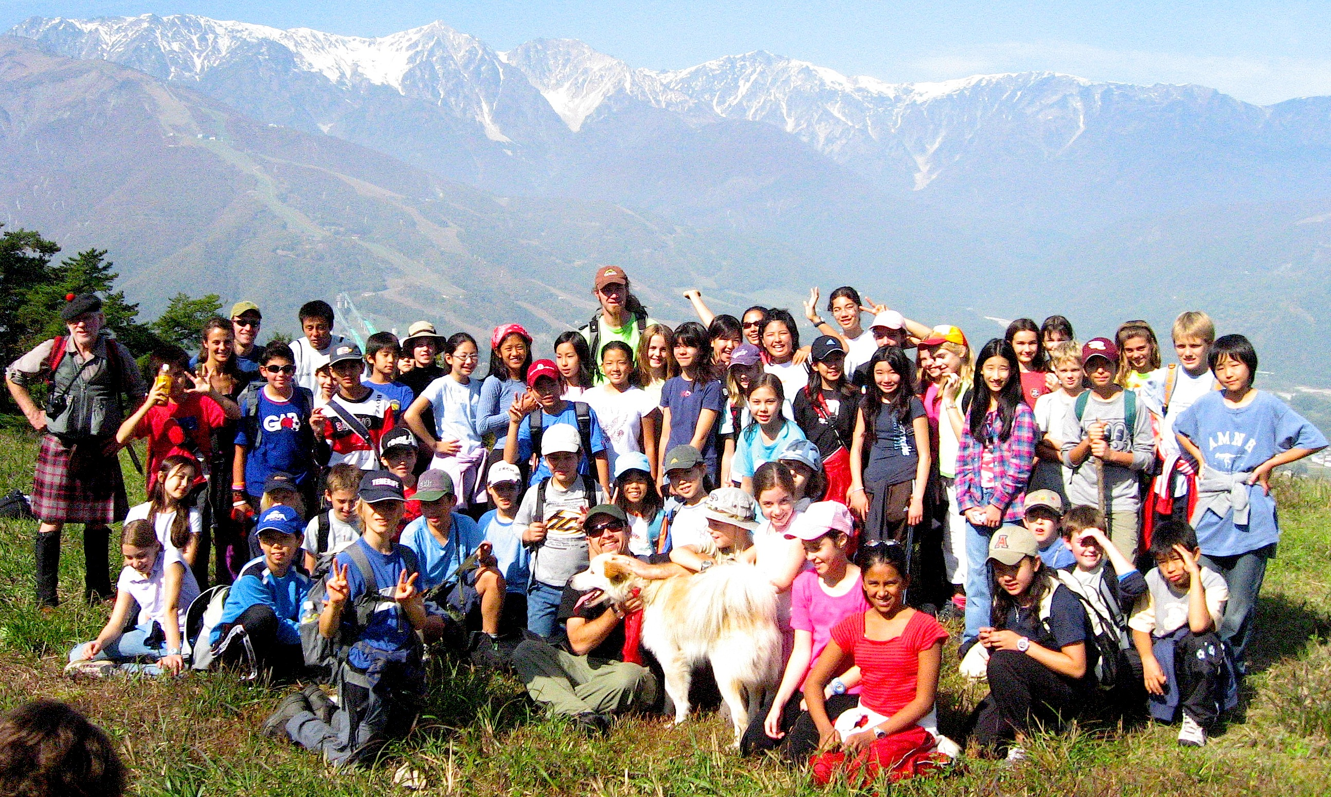 summer camp in japan - hakuba