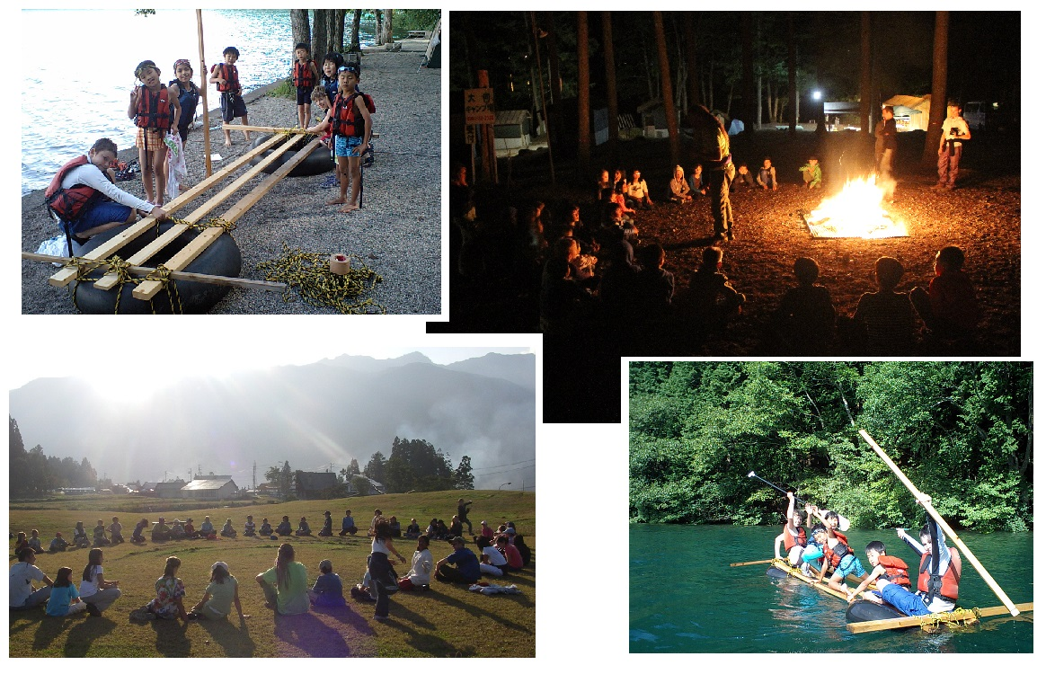 summer camp in japan