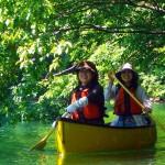 canadian canoe - hakuba japan