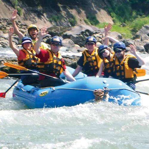 shinanogawa rafting