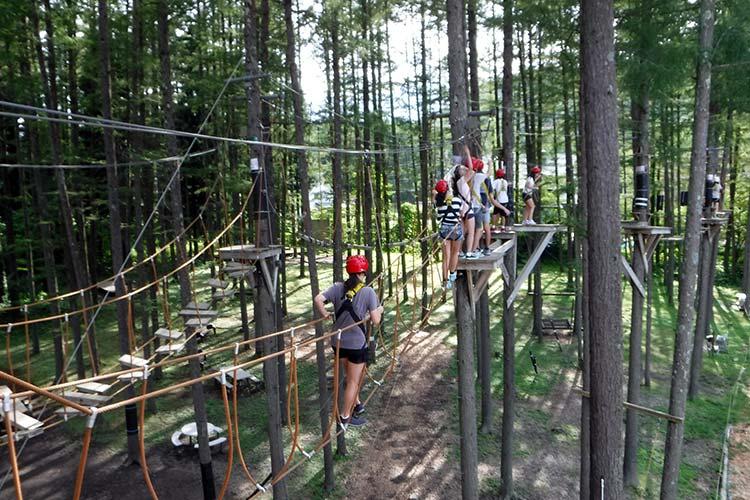 high ropes in hakuba