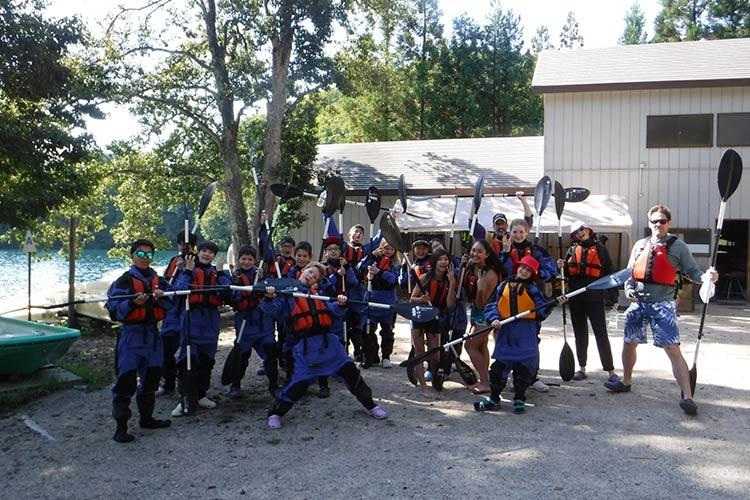 kayaking in aokiko