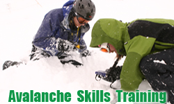 hakuba japan avalanche skills training