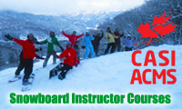 casi snowboard instructor course