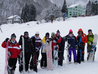 group snowboard lessons