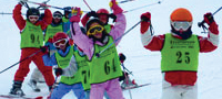 childrens ski snowboard school in hakuba japan