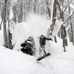 雪道外野雪行程