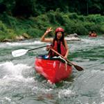 downriver canoe in nagano