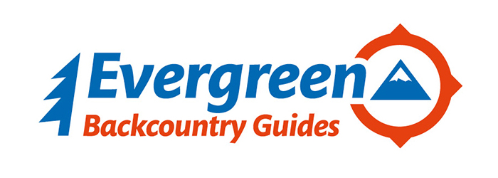 Evergreen Backcountry Guides Homepage screenshot