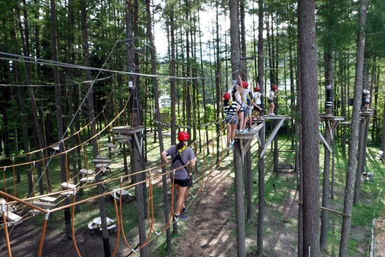 high ropes in hakuba