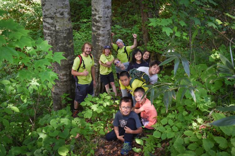 mountain master summer camp in hakuba