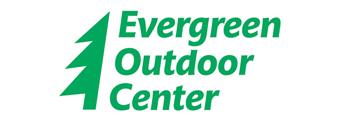 Evergreen Outdoor Center Homepage screenshot