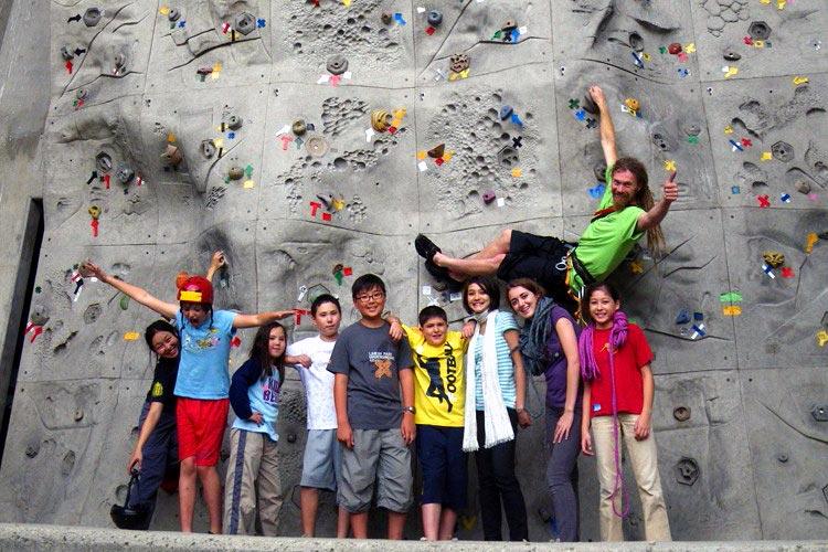 wall climbing in omachi