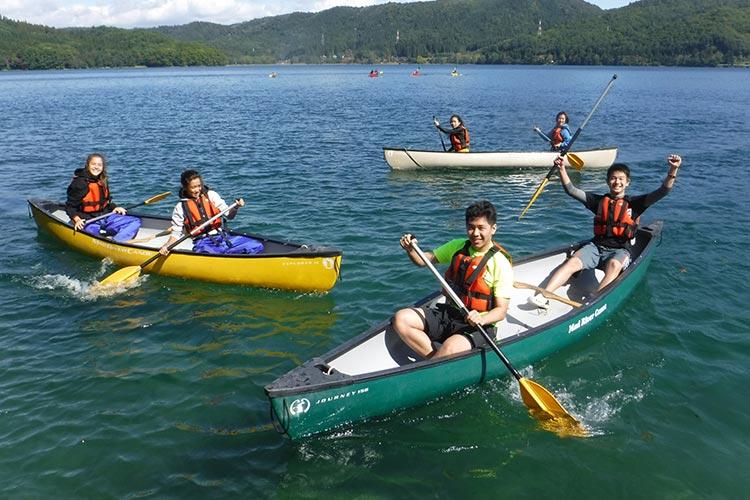 canoeing in aokiko