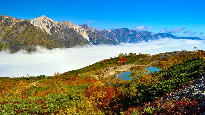 multi-day hiking tours in nagano