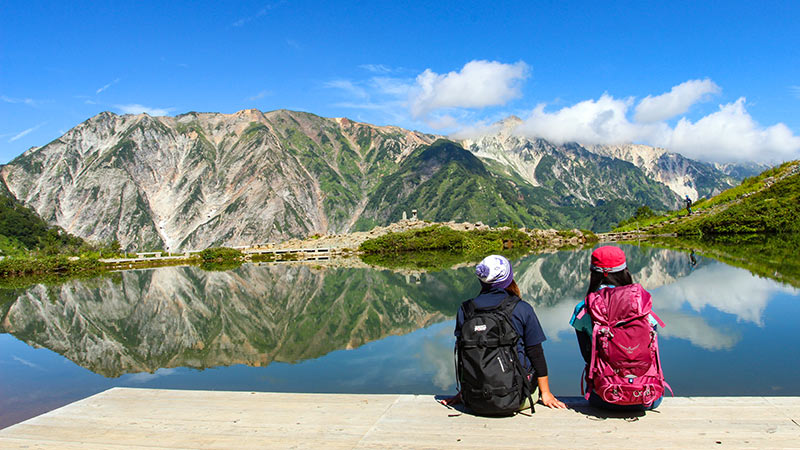 hiking tours in hakuba