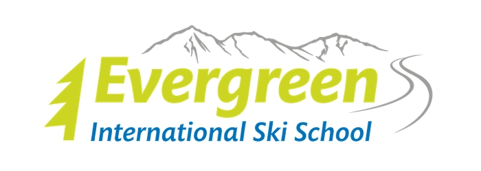 evergreen international ski school logo
