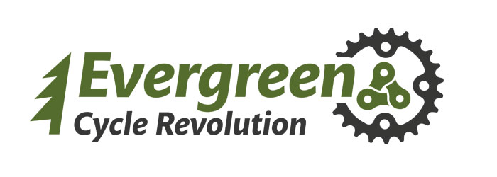 evergreen cycle revolution logo